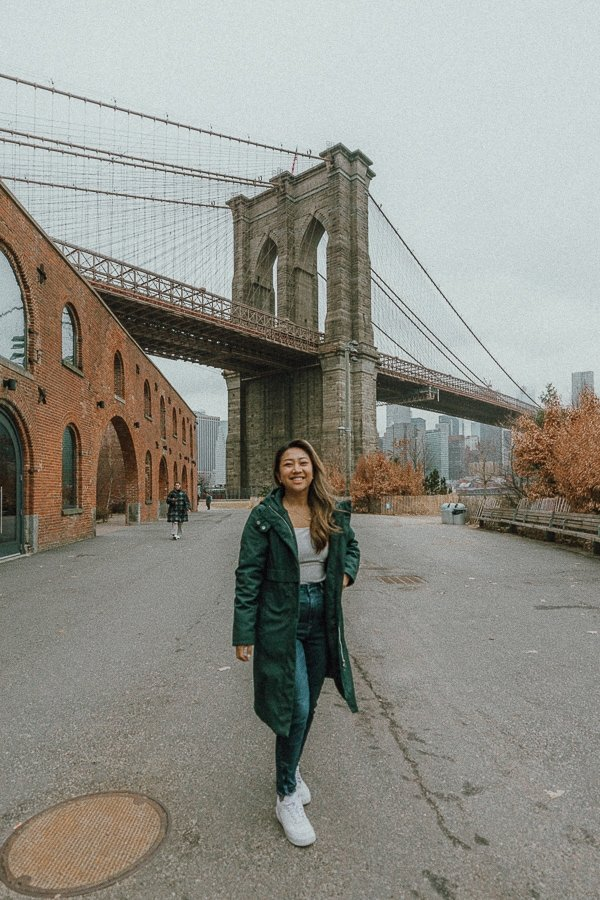 DUMBO, an instagrammable place in Brooklyn