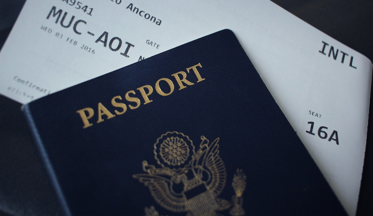 having your passport is the most important of international travel tips