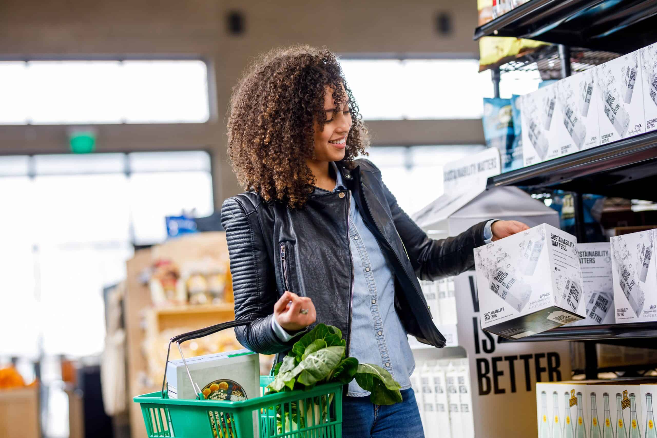 reusable grocery bags are a great way to make your everyday lifestyle more eco-friendly