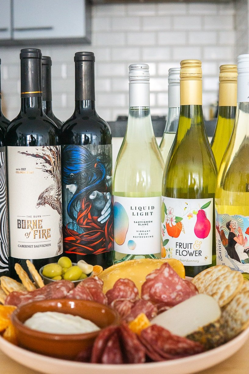 hosting an at home wine tasting party