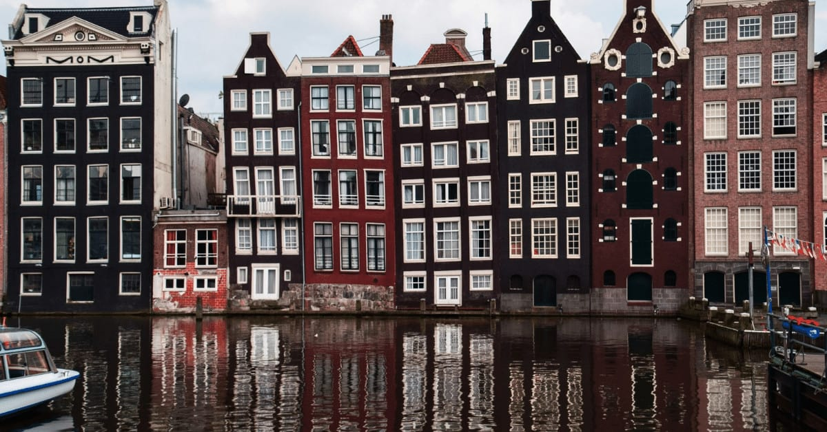 The canals of Amsterdam should definitely be on your awesome places to visit list.