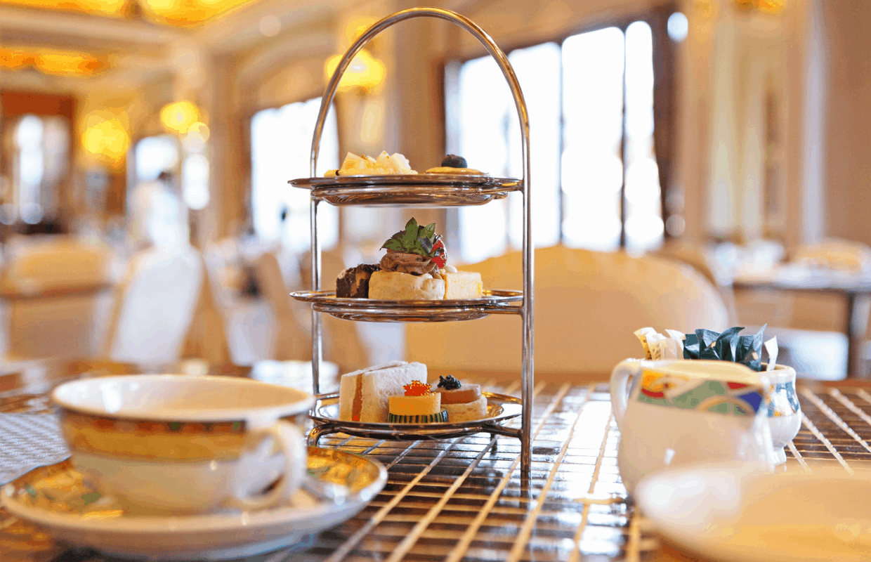 High Tea is a real treat when on a staycation in Amsterdam.