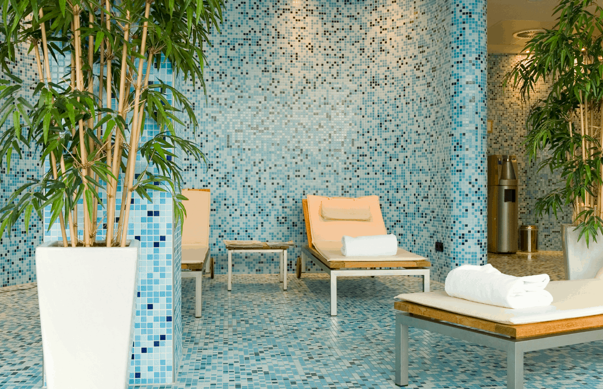 Head to the spa during your staycation in Amsterdam.