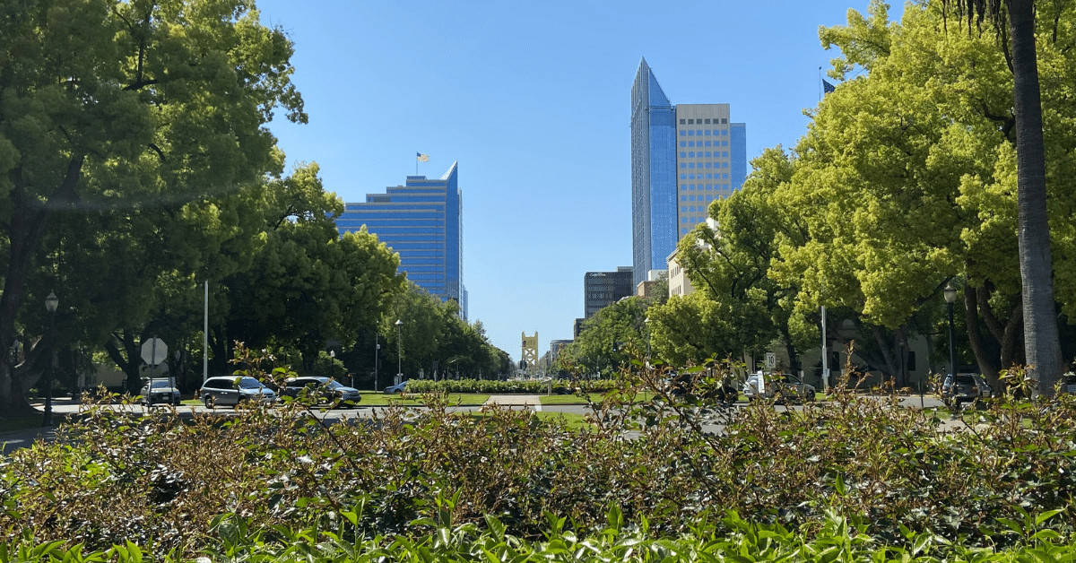 Walk through the parks of Sacramento on your Staycation.