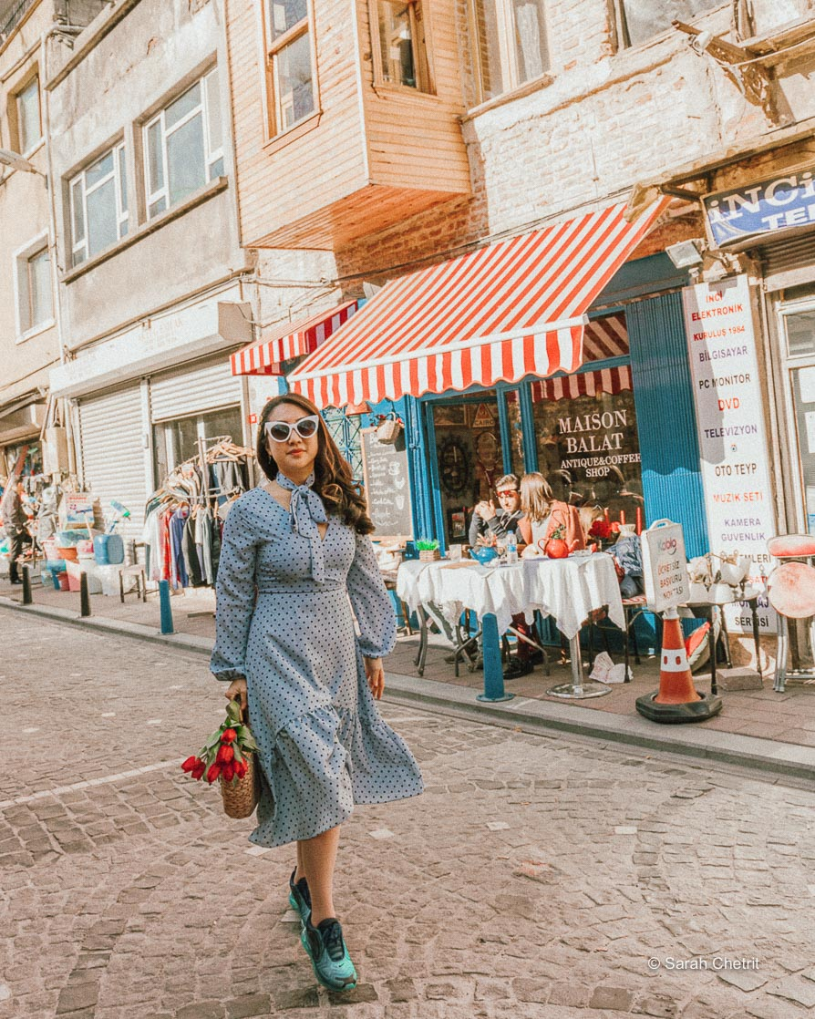 Maison Balat is one of the best Istanbul Instagram spots.