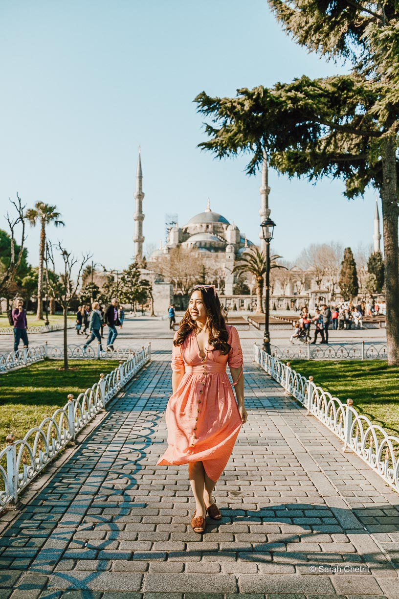 Blue Mosque is one of the best Istanbul Instagram spots.