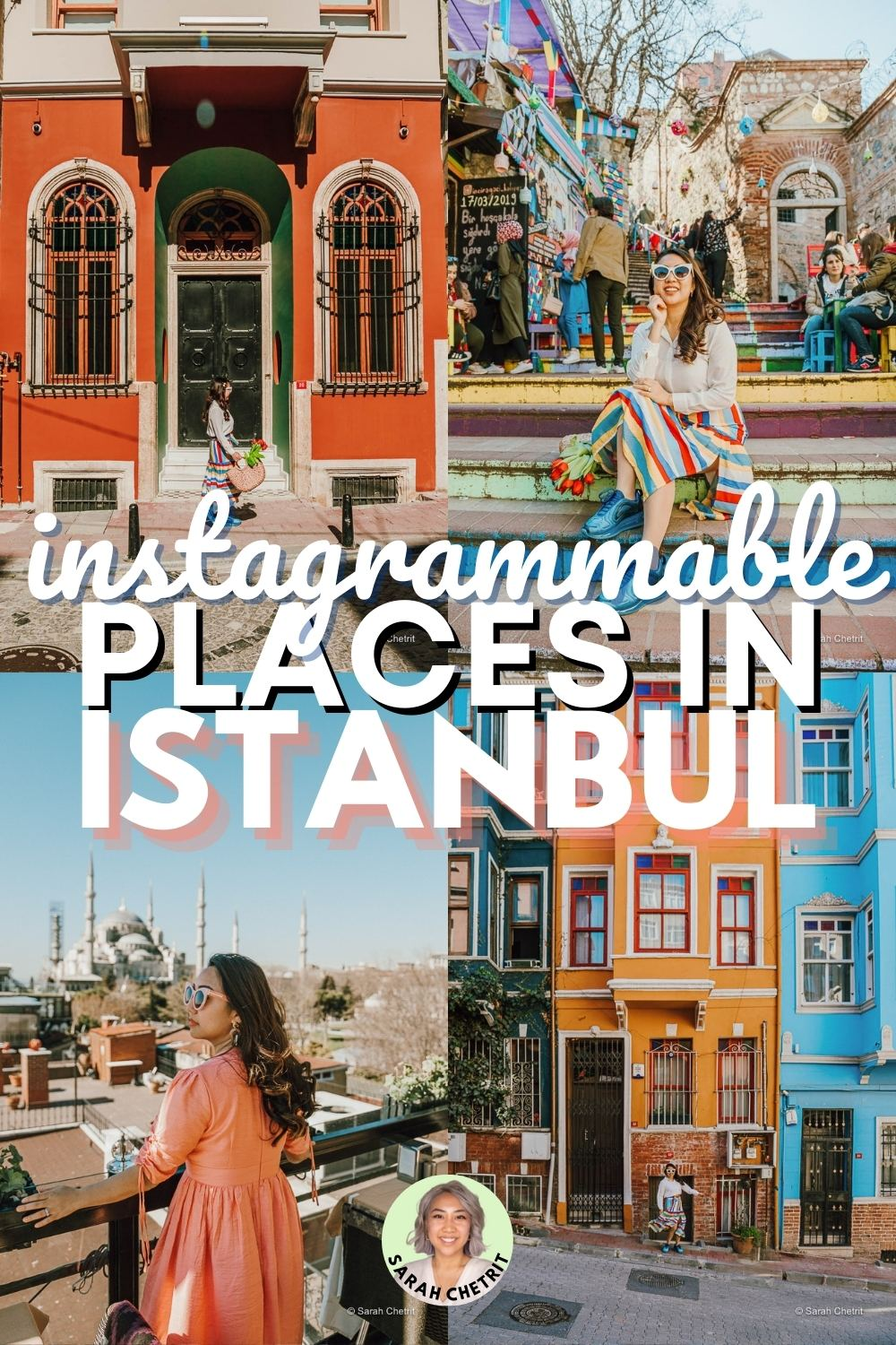 pintrest graphic for instagrammable places in istanbul