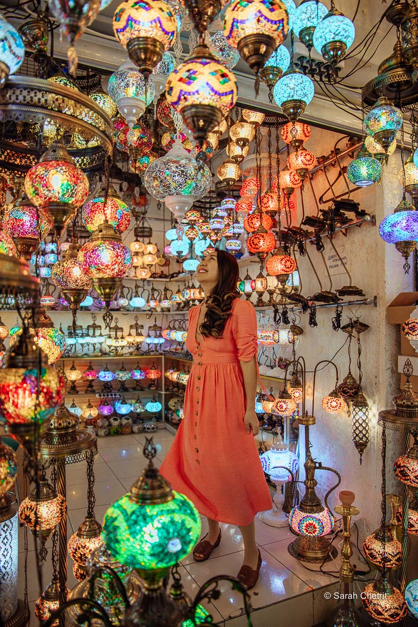The Grand Bazaar has many Instagrammable photo spots in Istanbul.